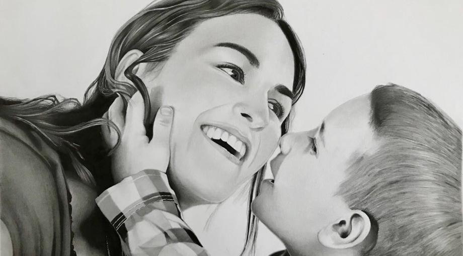 Retratos Por Encargo Dibujos Por Encargo En Tinta Y Lapiz